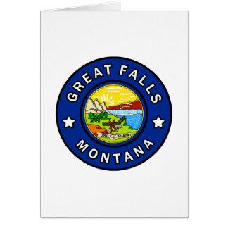 Great Falls Montana Card