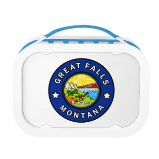 Great Falls Montana Lunch Box