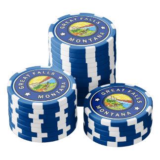 Great Falls Montana Poker Chips