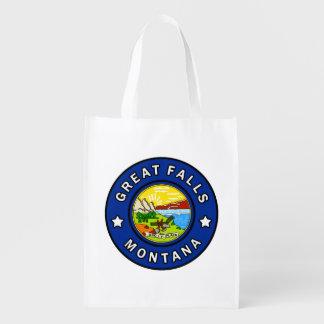 Great Falls Montana Reusable Grocery Bag