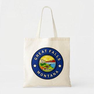 Great Falls Montana Tote Bag