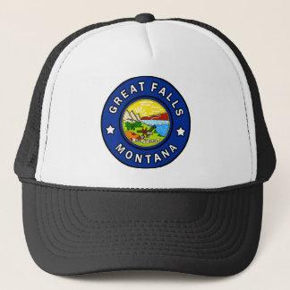 Great Falls Montana Trucker Hat