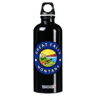 Great Falls Montana Water Bottle