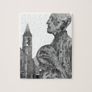 Great Famine of Ireland statues in Dublin Jigsaw Puzzle