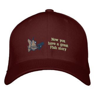 Great Fish Story - Embroidered Hat