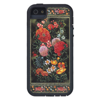 Great floral miniature of colorful of the Persian  iPhone 5 Cases