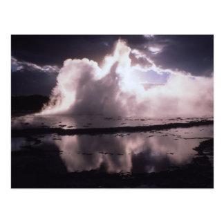 Great Fountain Geyser Postcard