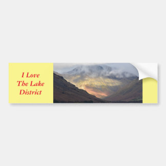 Great Gable from Wast Water Bumper Sticker