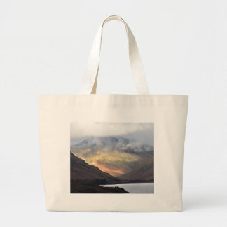 Great Gable from Wast Water Large Tote Bag