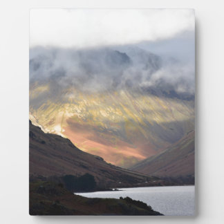Great Gable from Wast Water Plaque
