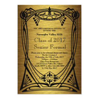 Great Gatsby Prom Senior Formal Card
