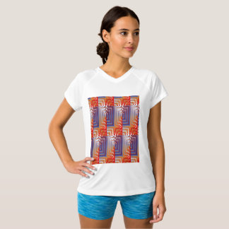 Great Geometric Womens T-shirt for everyday wear.