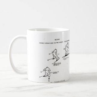 Great gift for a skier - Vintage Ski mug
