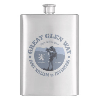 Great Glen Way Hip Flask