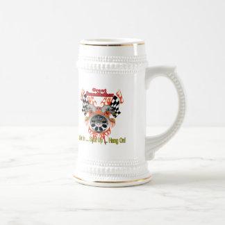 Great Grandfather Racing Father's Day Gifts Mug