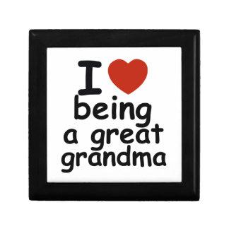 great grandma design keepsake box