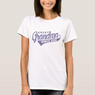 Great Grandma Since 2016 T-Shirt