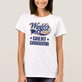 Great Grandma Worlds Best T-Shirt