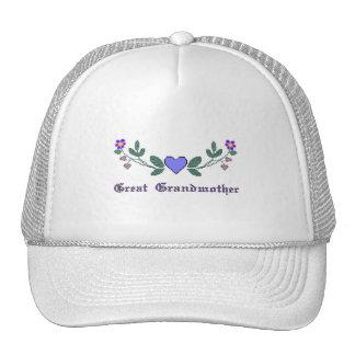 Great Grandmother CS Print Trucker Hat