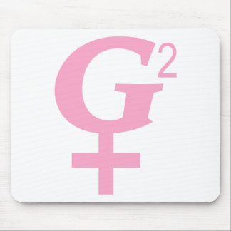 Great Grandmother Symbol - G-Squared Mouse Pad