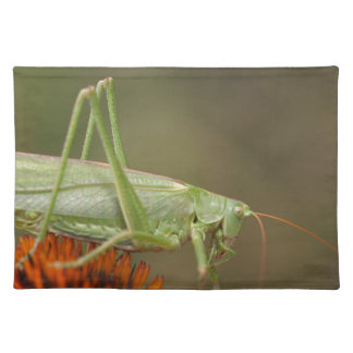 Great Green Bush-Cricket  (Tettigonia viridissima) Placemat