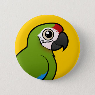 Great Green Macaw 2 Inch Round Button
