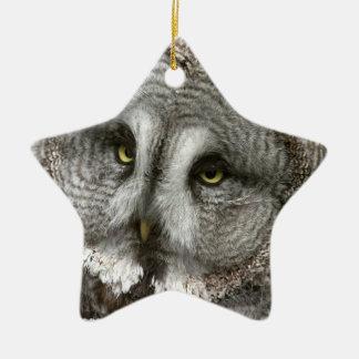 Great Grey Owl Ornament