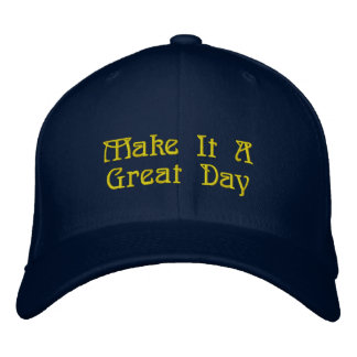 Great Hat, Awesome Message Embroidered Hat