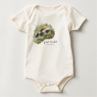 Great Hornbill Baby Bodysuit