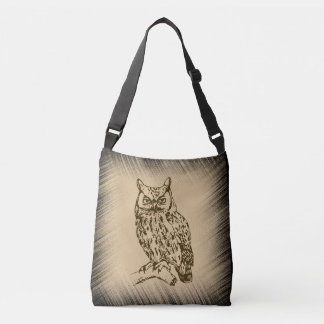 Great Horned Owl Crossbody Bag