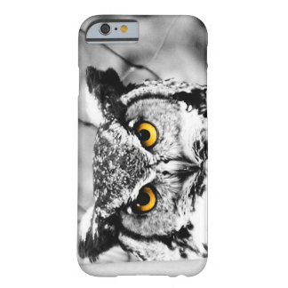Great Horned Owl Eyes Barely There iPhone 6 Case
