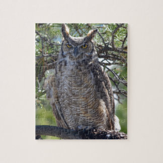 Great Horned Owl in the Tree Jigsaw Puzzle