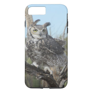 Great Horned Owl iPhone 8 Plus/7 Plus Case