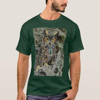 Great Horned Owl Mens Tshirt