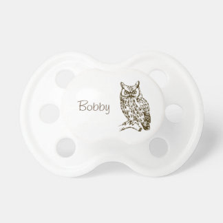 Great Horned Owl Pacifier