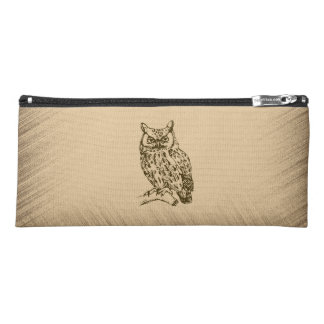 Great Horned Owl Pencil Case