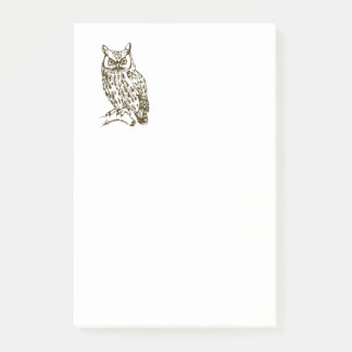 Great Horned Owl Post-it Notes
