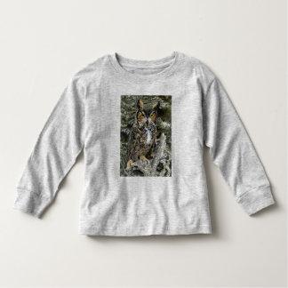 Great Horned Owl Toddler Long Sleeve Shirt