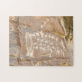 Great Hunt Panel - Rock Art Jigsaw Puzzle