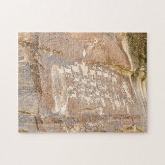 Great Hunt Panel - Rock Art Puzzles
