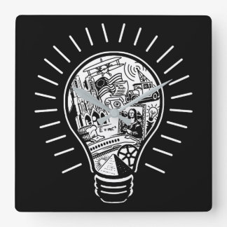 Great Ideas Square Wall Clock