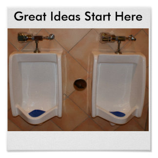 Great Ideas Start Here Poster