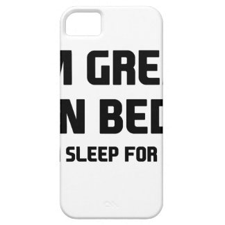 Great in Bed iPhone 5 Cover