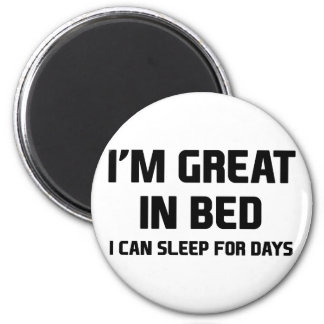 Great in Bed Magnet