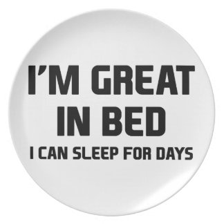Great in Bed Plate