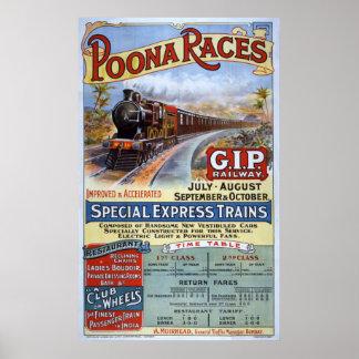 Great Indian Peninsula Railway Poster