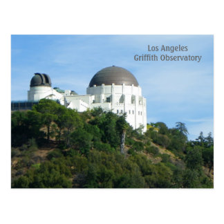 Great LA Griffith Observatory Postcard! Postcard