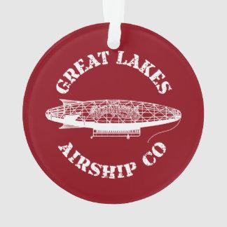 Great Lakes Airship Company Christmas Ornament