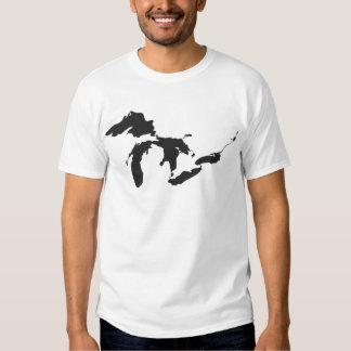 Great Lakes Black Shirts