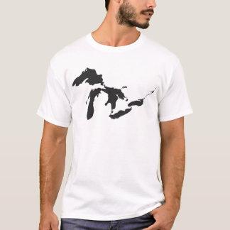 Great Lakes Black T-Shirt